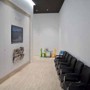 Sala d'espera - Estudi Dental Qdents